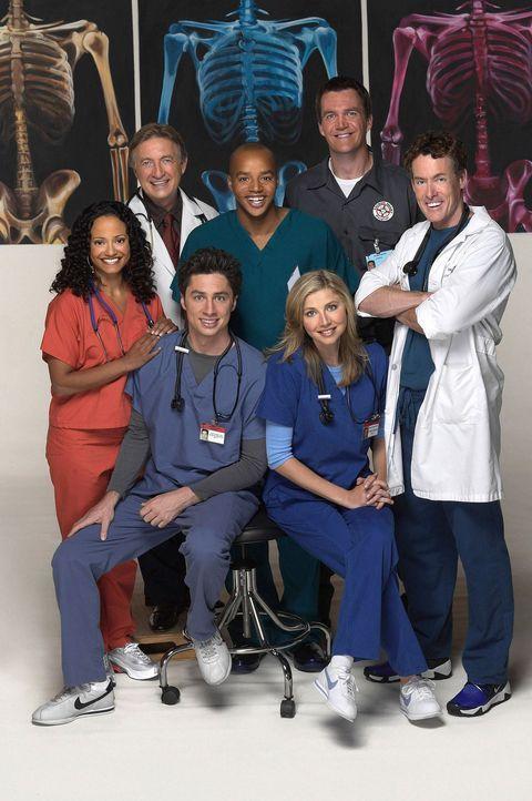 """(2. Staffel) - Nach Jordans peinlicher Enthüllung sämtlicher """"Vergehen"""" der Belegschaft beginnt ein neues aufreibendes Jahr am Sacred Heart Hospital... - Bildquelle: Touchstone Television"""