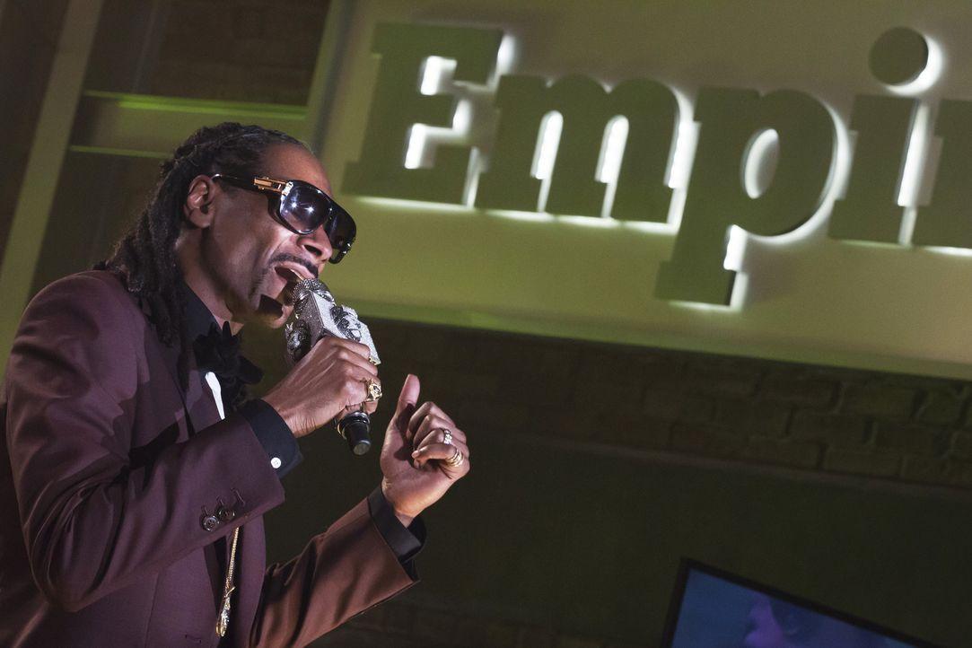 Eigentlich sollte sich alles um das neue Album drehen. Doch Snoop Dogg (Snoop Dogg) wird von Hakeems Rap gegen seinen Vater überschattet ... - Bildquelle: 2015 Fox and its related entities.  All rights reserved.