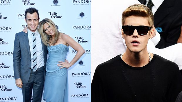Top: Jennifer Aniston & Justin-Theroux+++Flop: Justin Bieber