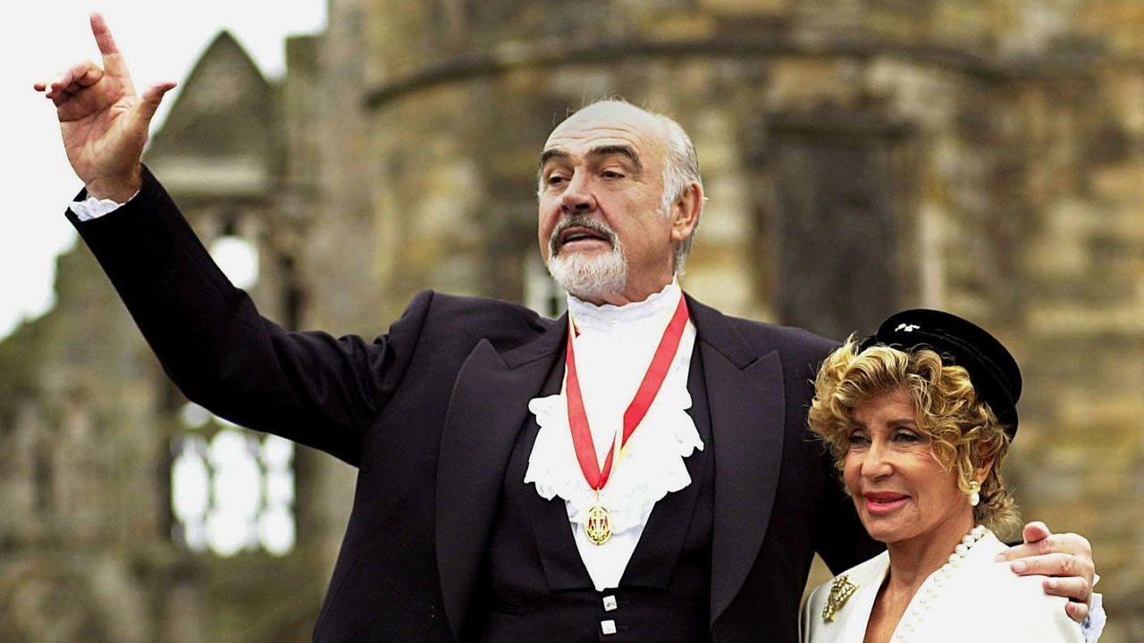 Sean Connery  - Bildquelle: dpa