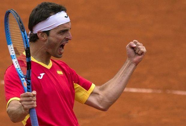 Albert Ramos-Vinolas führt Spanien ins Viertelfinale