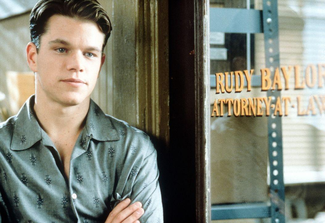 """Jung-Anwalt Rudy Baylor (Matt Damon) träumt davon, ein """"Regenmacher"""" zu werden - ein Staranwalt ... - Bildquelle: Paramount Pictures"""