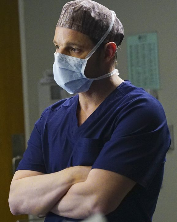 Jackson erfährt, dass April schwanger ist, während Alex (Justin Chambers) und ein Team von Chirurgen eine Transplantation von drei Organen vornehmen... - Bildquelle: Richard Cartwright ABC Studios