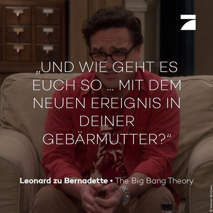 Staffel 11 Episode 1 - Leonard - Bildquelle: Warner Bros. Television