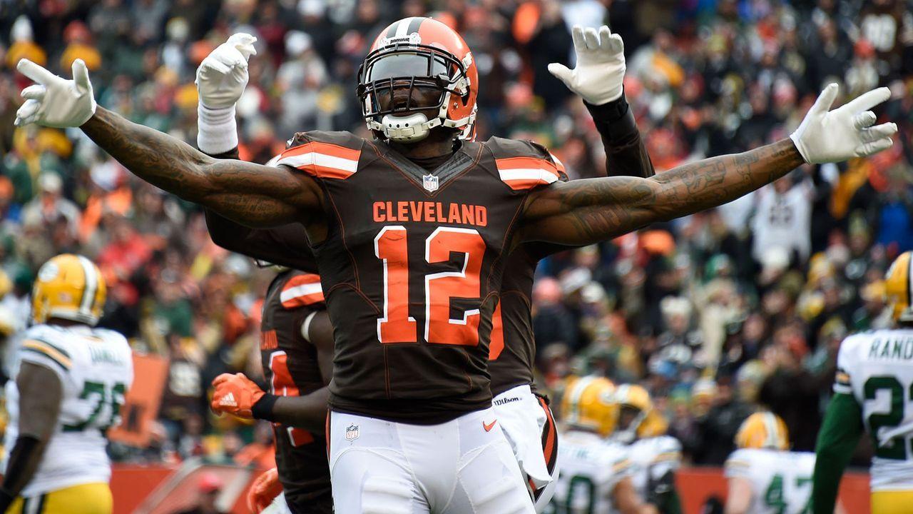 Josh Gordon (Cleveland Browns) - Bildquelle: 2017 Getty Images