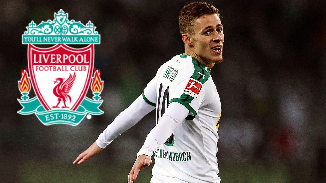 Thorgan Hazard (Borussia Mönchengladbach) - Bildquelle: 2018 Getty Images