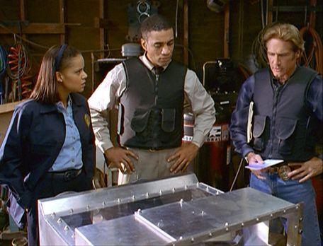 Diagnose: Mord - Amanda (Victoria Rowell, l.), FBI-Agent Wagner (Harry J. Len...