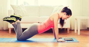 Bequem von zuhause: Für das Training brauchen Sie oftmals nicht mehr als eine...