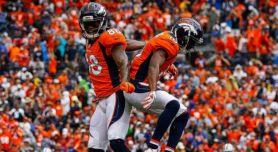 Demaryius Thomas und Emmanuel Sanders (Denver Broncos) - Bildquelle: 2017 Getty Images