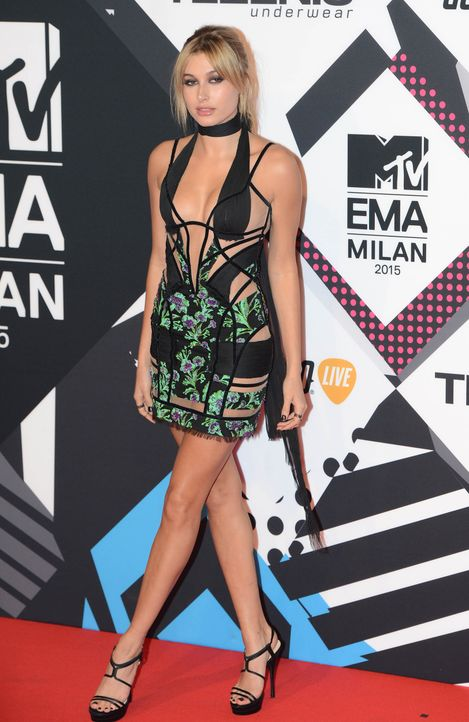 MTV Europe Music Awards 2015 Hailey Baldwin wenn - Bildquelle: WENN.com