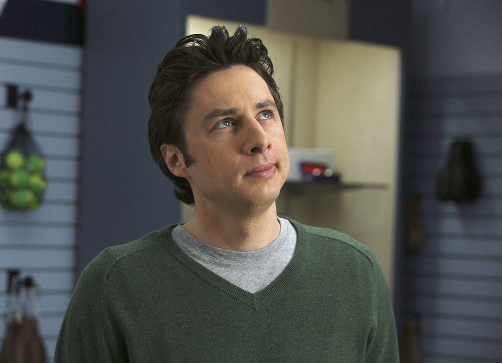 J.D. (Zach Braff) hat einiges zu klären: Elliott fühlt sich von ihm vernachlässigt .. - Bildquelle: Touchstone Television