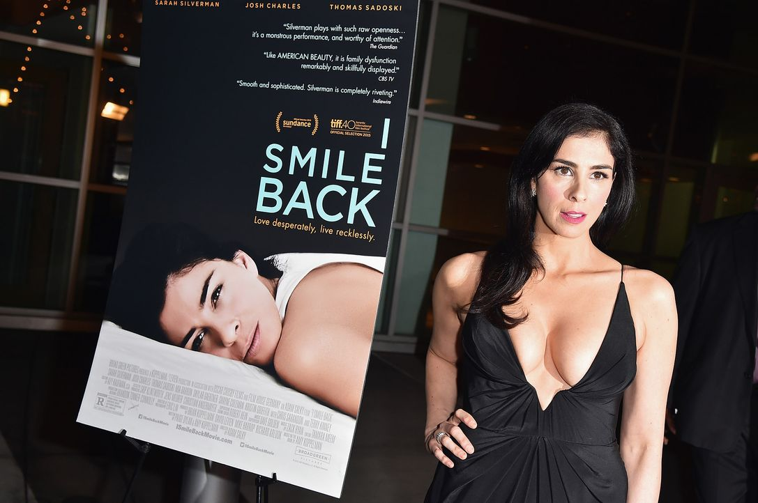 Sarah-Silverman-I-Smile-Back-getty-AFP - Bildquelle: getty-AFP