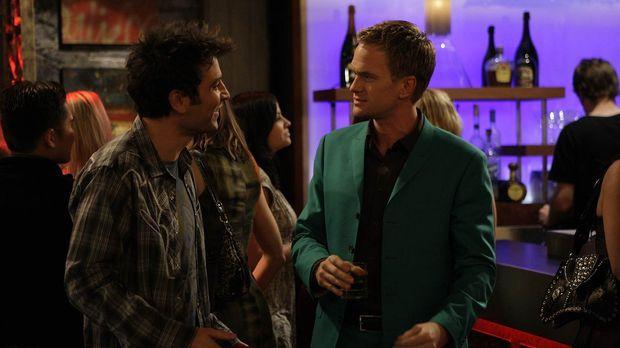 Es ist St. Patricks Day. Ted (Josh Radnor, l.) hat überhaupt keine Lust auf d...