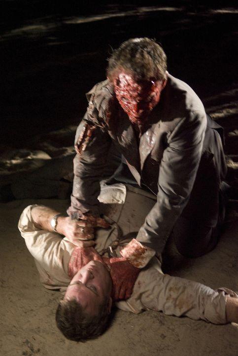 Zwischen Dick (Thomas Jane, l.) und Bloodyface (Con Schell, r.) entbrennt ein Kampf auf Leben und Tod ... - Bildquelle: Sony 2010 CPT Holdings, Inc.  All Rights Reserved.