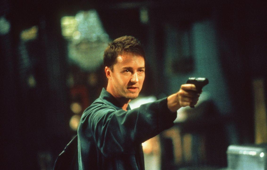 Smart, übermotiviert und undurchschaubar: Jack (Edward Norton) ... - Bildquelle: Paramount Pictures