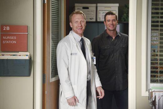 Grey's Anatomy - Die jungen Ärzte - Planen ein Baseball-Match für das Ärzte-T...