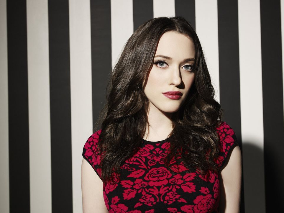 (3. Staffel) - 2 Broke Girls: Max Black (Kat Dennings) ... - Bildquelle: Warner Bros. Television