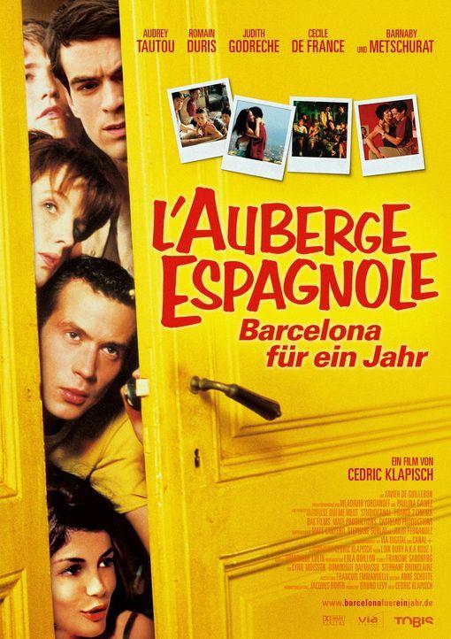 """""""L'Auberge Espagnole - Barcelona für ein Jahr"""" - Plakatmotiv - Bildquelle: Tobis Film GmbH & Co. KG"""