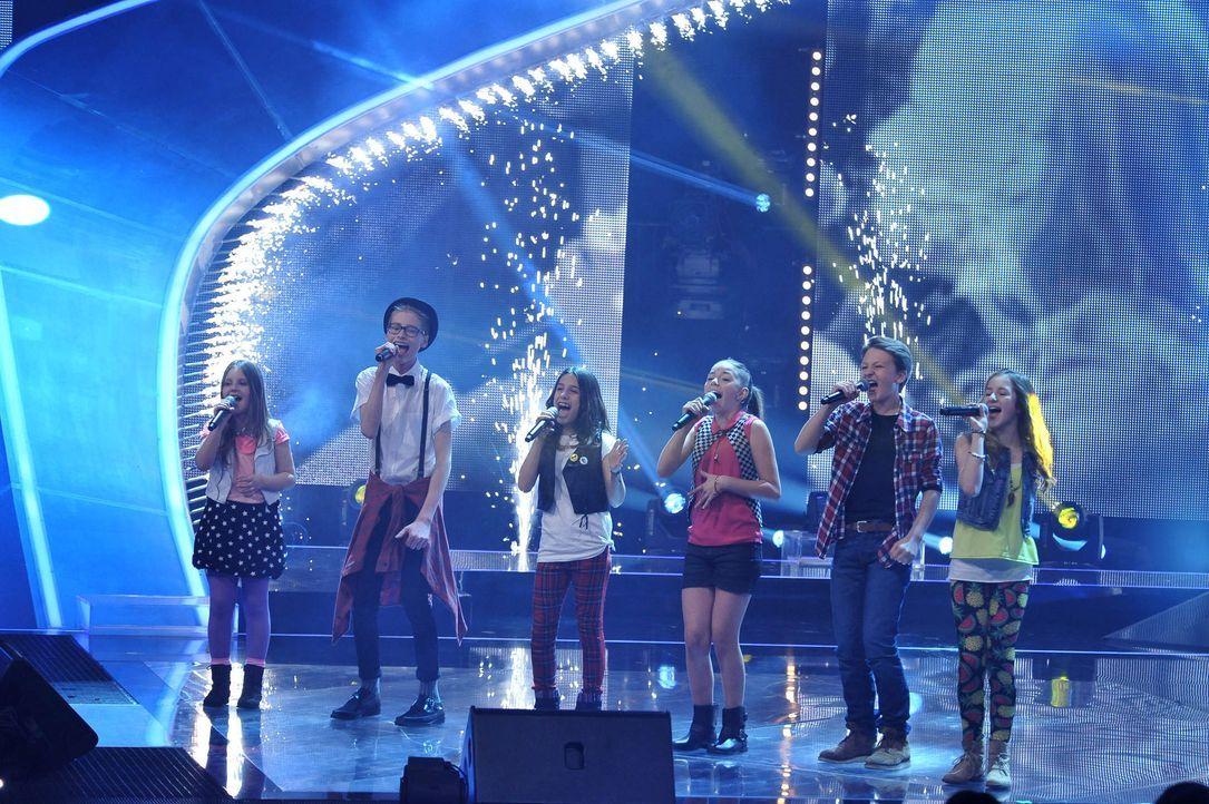 The-Voice-Kids-Finale-16 - Bildquelle: SAT.1/Andre Kowalski