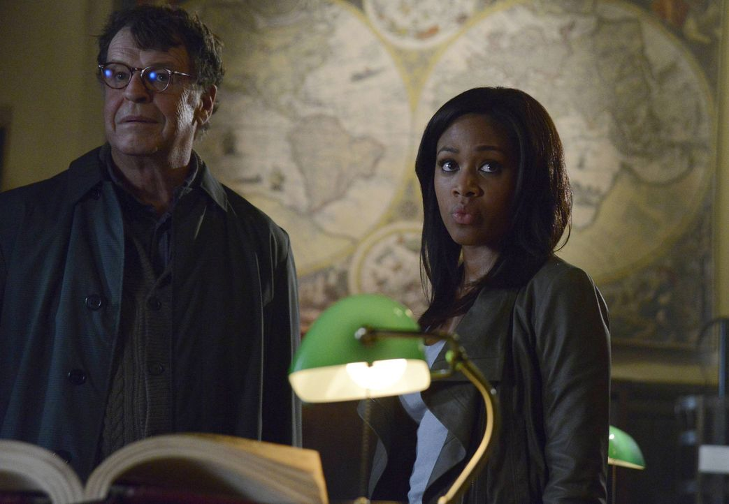 Stehen Ichabod Crane zur Seite: Henry Parrish (John Noble, l.) und Abbie Mills (Nicole Beharie, r.) ... - Bildquelle: 2013 Twentieth Century Fox Film Corporation. All rights reserved.