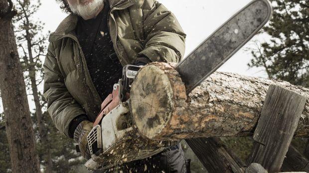Seine erste Saison in der Wildnis Maines endete mit einer Operation an der Sc...