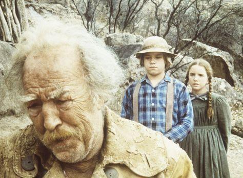 Unsere kleine Farm - Der alte Goldsucher Zachariah (E. J. Andre, l.) erzählt...