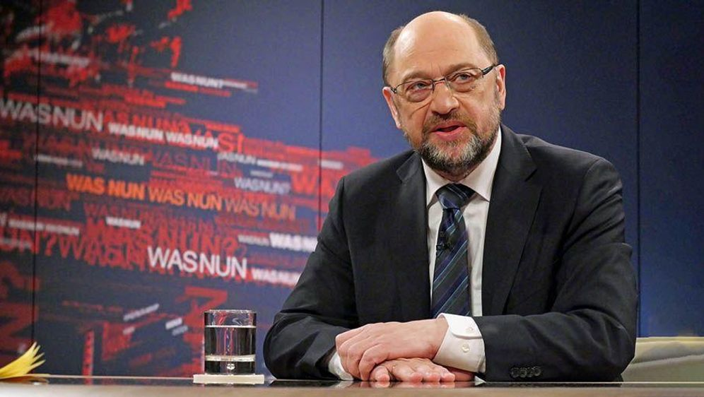 Schulz wirbt um Ja der Basis zum GroKo-Kurs - Bildquelle: Thomas Ernst/ZDF/dpa