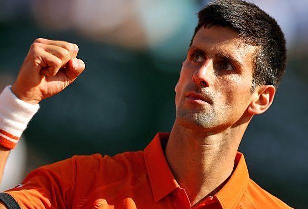 Novak Djokovic setzt sich gegen Rafael Nadal durch