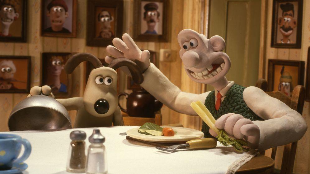 Wallace & Gromit auf der Jagd nach dem Riesenkaninchen - Bildquelle: Telepool GmbH