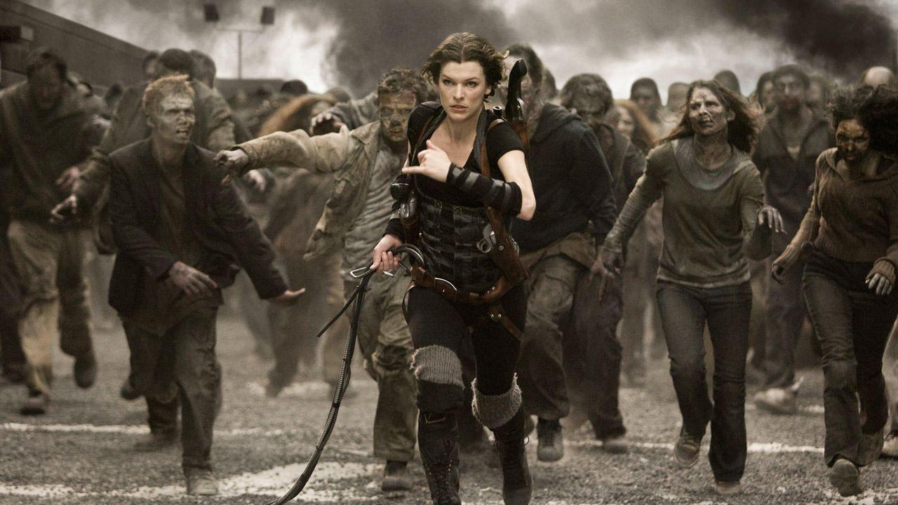 """Milla Jovovich in """"Resident Evil"""" - Bildquelle: Paramount Pictures und Constantin Filmverleih"""