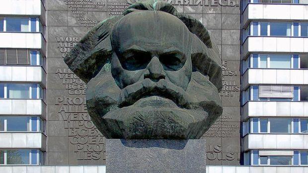 Das Karl-Marx-Monument in Chemnitz