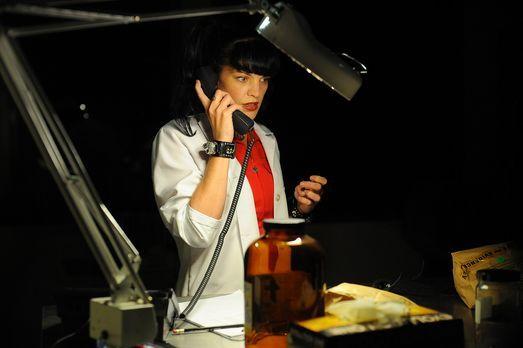 Bei einem neuen Mordfall wird Abby (Pauley Perrette), das Laborgenie aus NCIS...