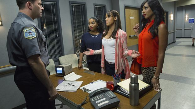 Gemeinsam stellen sich Rosie (Dania Ramirez, 2.v.r.), Lucinda (Kimberly Heber...