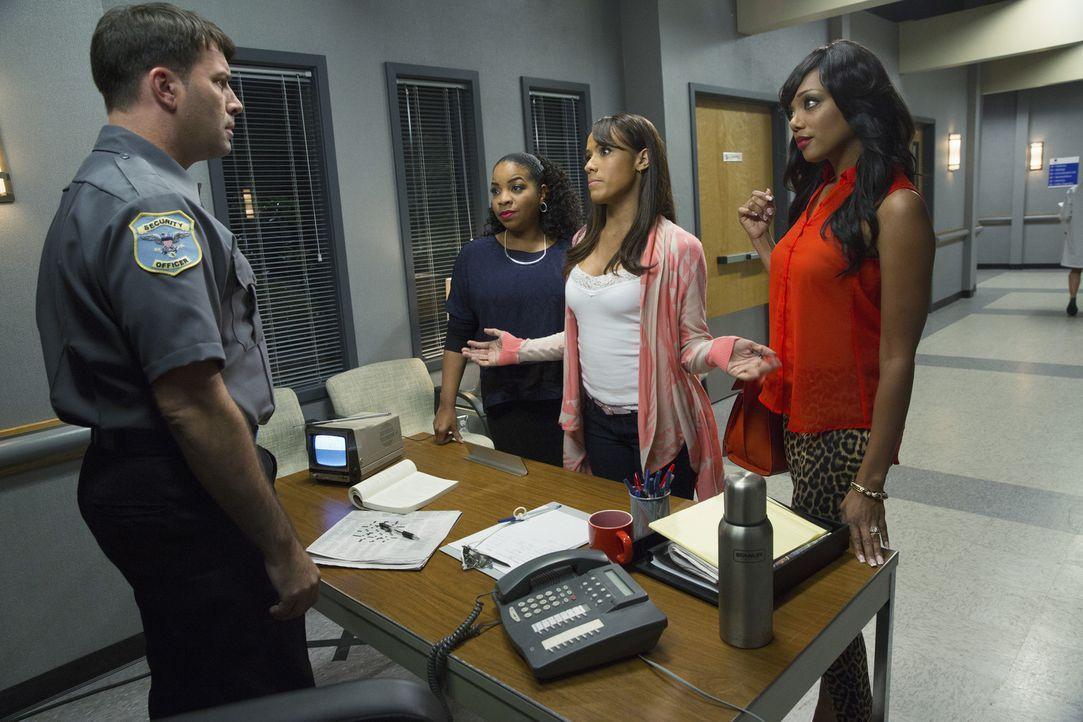 Gemeinsam stellen sich Rosie (Dania Ramirez, 2.v.r.), Lucinda (Kimberly Hebert Gregory, 2.v.l.) und Didi (Tiffany Hines, r.) nicht nur dem Krankenha... - Bildquelle: 2014 ABC Studios