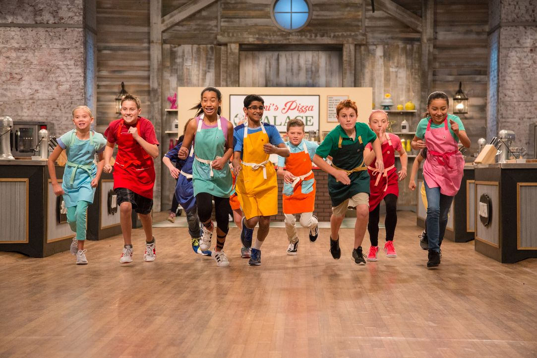 Süße Pizza - Bildquelle: Bruce France 2017, Television Food Network, G.P. All Rights Reserved./ Bruce France