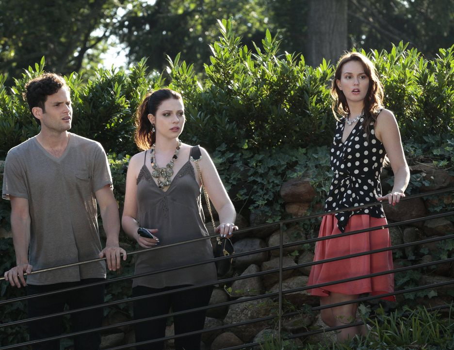 Dan, Georgina und Blair in Staffel 6 Gossip Girl - Bildquelle: Warner Bros. Television