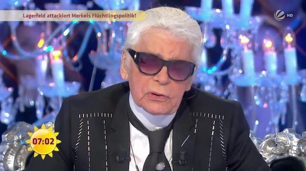 "Karl Lagerfeld: ""Ich hasse Merkel!"""
