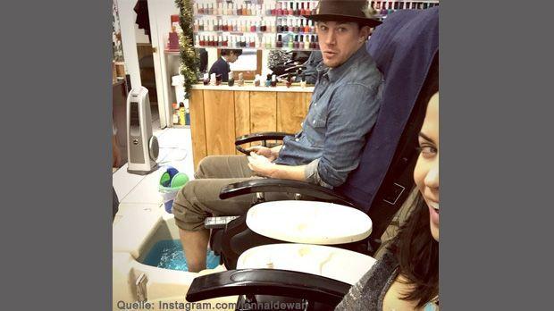 Jenna-Dewan-Schnappi-Instagram-com-jennaldewan - Bildquelle: Instagram.com/jennaldewan/ 2014 Jenna Dewan-Tatum
