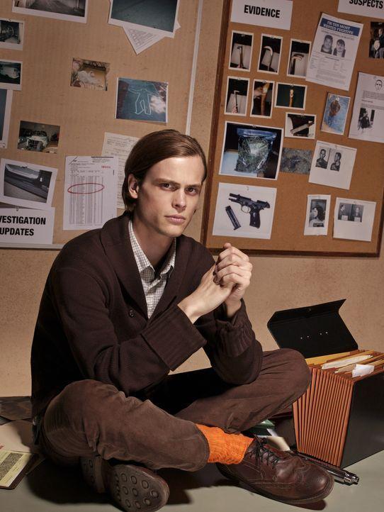 (1. Staffel) -  Einer der klügsten Köpfe, die das FBI zu bieten hat: Dr. Spencer Reid (Matthew Gray Gubler) ... - Bildquelle: Touchstone Television