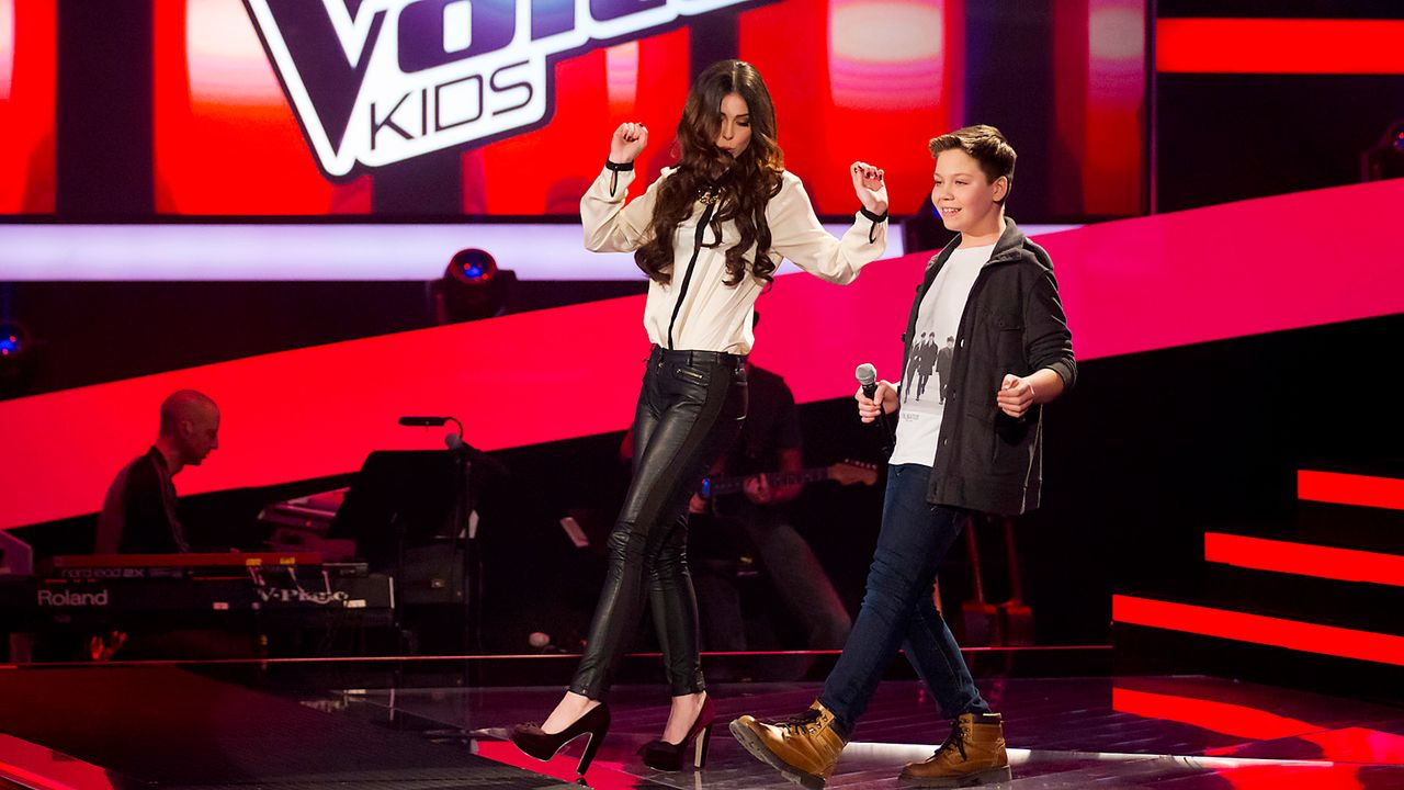 The-Voice-Kids-epi03-danach-Marius-SAT1-Richard-Huebner - Bildquelle: SAT.1/Richard Hübner