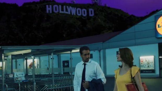 """Mit Gosling und """"La La Land"""": Lidl-Werbung attackiert Edeka"""
