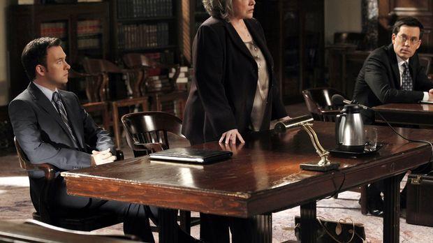 Harry's Law - Ein neuer Fall entpuppt sich für Harry (Kathy Bates, M.) und Ad...