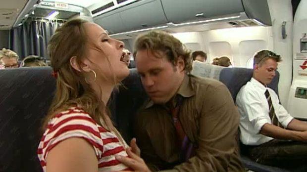 Sex auf Flugzeug Video
