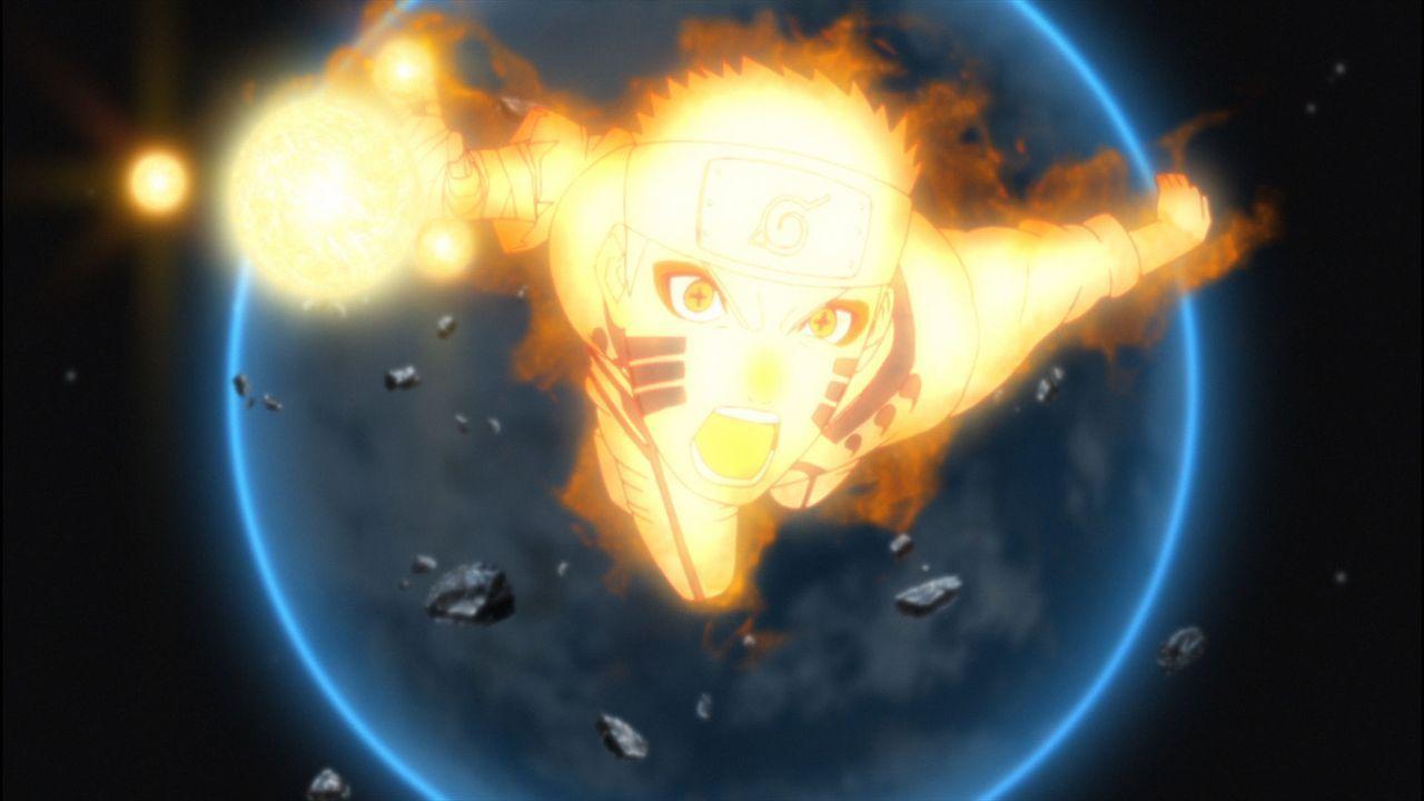 Während ihrer Jagd nach den Entführern von Hinatas Schwester Hanabi stoßen Naruto (Bild) und seine Freunde auf einige Rätsel: Wer sind die mysteriösen Ootsutsuki und was hat das alles mit dem Mond zu tun?