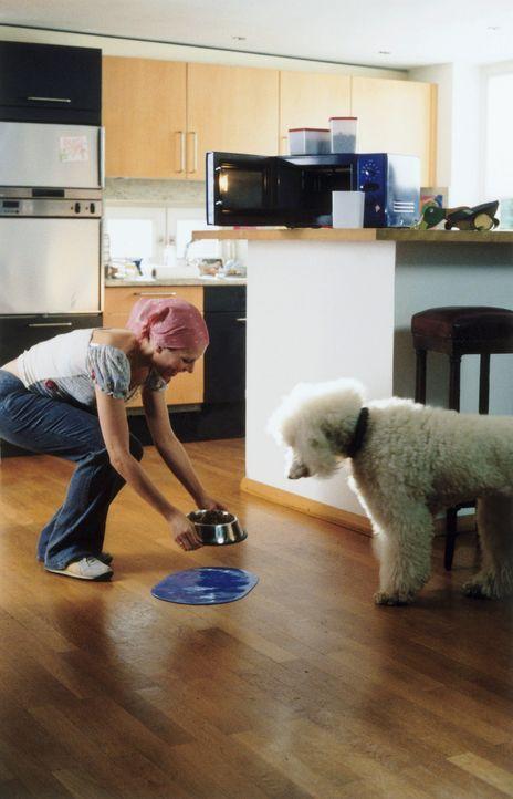 Um die Leiche ihres Nachbarn unwiederbringlich loszuwerden, greift Doris (Gruschenka Stevens) zu einem probaten Mittel: Sie verfüttert ihn häppchenw... - Bildquelle: Christian A. Rieger ProSieben
