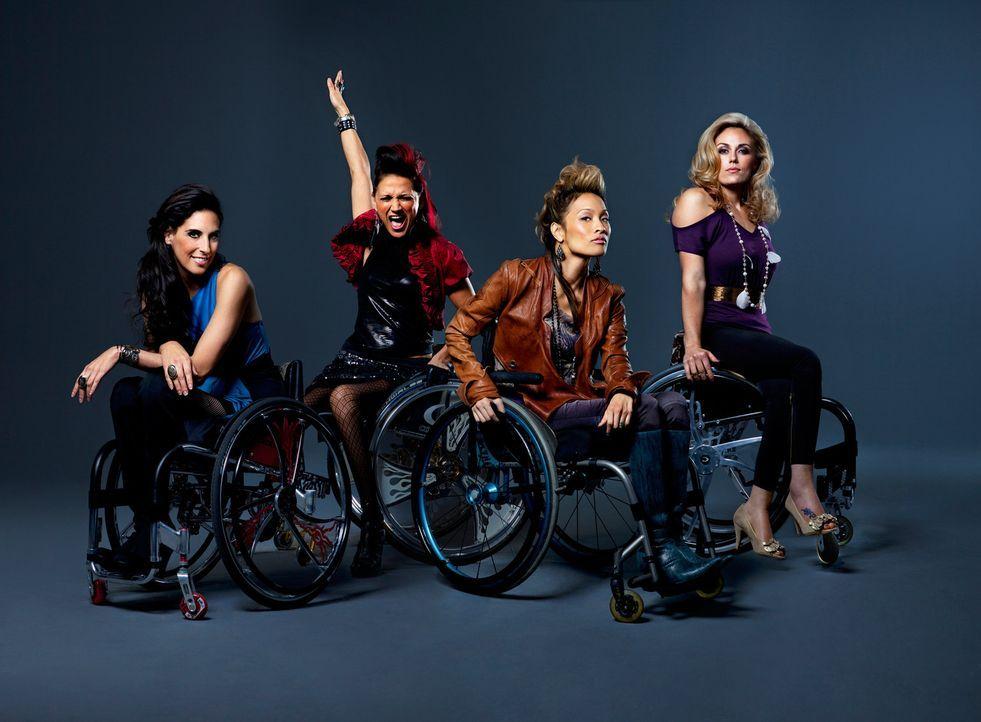 Das sind die Push Girls - Bildquelle: Sundance Channel