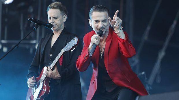 Depeche Mode stehen offenbar gerne und oft auf der Bühne
