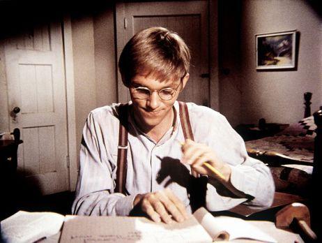 Die Waltons - Kurz vor einem wichtigen Test sind John-Boys (Richard Thomas) C...