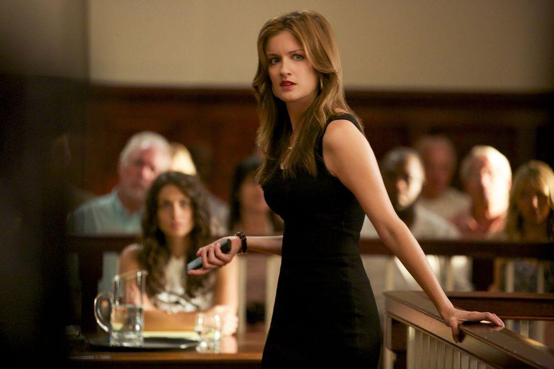 Jamie (Anna Wood) versucht zu retten, was zu retten ist, nachdem sie entdeckt hat, dass Lee Anne sie belogen hat ... - Bildquelle: 2013 CBS BROADCASTING INC. ALL RIGHTS RESERVED.