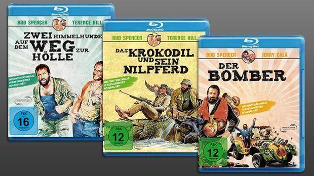 Der Bomber - Das Krokodil und sein Nilpferd - Zwei Himmelhunde auf dem Weg zu...